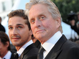 Michael Douglas and Shia LaBeouf
