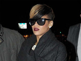 Rihanna leaving Lillie's Bordello nightclub in Dublin