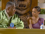 Andre Leon Talley and Tyra Banks on America&#39;s Next Top Model