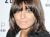 Claudia Winkleman attending a dinner in celebration of a new Topshop store opening