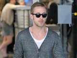 Ryan Gosling seen arriving at LAX airport