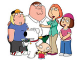 The Griffins from Family Guy