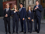 The cast of How I Met Your Mother