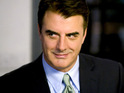 Chris Noth jokes that he was told he wasn't called Mr Big for his stomach.