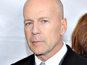 A malfunctioning escalator reportedly nearly injures Bruce Willis and others in New York.