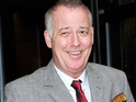 Michael Barrymore is said to have found love with a mystery blonde.