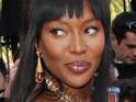 Model Naomi Campbell is accused by a former agent of lying during testimony at a war crimes trial.