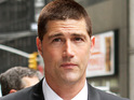 "Lost's Matthew Fox again insists that he has ""never hit a woman"" in his life."