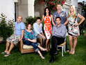 The cast of Cougar Town announces the show's return date on a new channel.