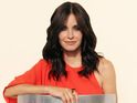 Cougar Town star reveals close relationship with ex-husband.