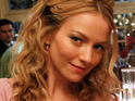 Former Ugly Betty star Becki Newton is expecting her first child with husband Chris Diamantopoulos.
