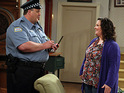 The executive producer of Mike & Molly claims that the series is not a show about weight.