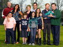 The cast Modern Family