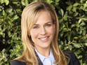 Julie Benz explains that her new show No Ordinary Family is not as dark as Heroes.
