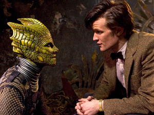 Doctor Who S05E08: The Hungry Earth - Alaya and the Doctor
