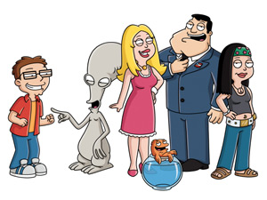 The cast of American Dad!