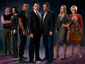 The cast of Criminal Minds