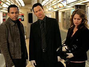 The cast of CSI: New York