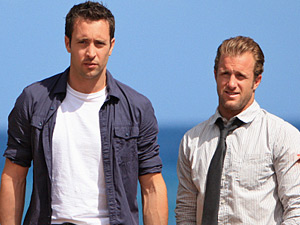 "Detective Steve McGarrett and Detective Danny ""Danno"" Williams in Hawaii Five-0"