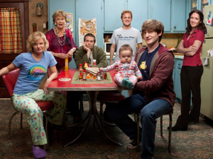 The cast of Raising Hope