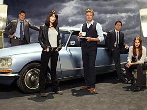 The cast of The Mentalist