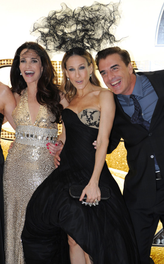 Kristin, SJP and Mr Big