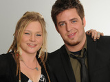 Crystal Bowersox and Lee DeWyze, finalists on American Idol