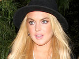 Lindsay Lohan out and about in Los Angeles departing a private residence