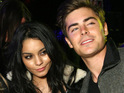 Sucker Punch actress Vanessa Hudgens claims she and ex-boyfriend Zac Efron are on friendly terms.