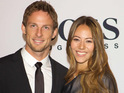 Jenson Button tries to contact girlfriend Jessica Michibata, who was in Japan during the recent earthquake.