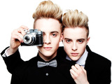 John and Edward Grimes 'Jedward'