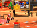 Arcade stunt racer Joe Danger is to be released on PlayStation Network next week.