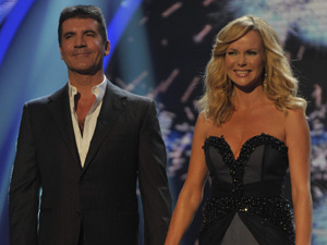 Simon Cowell and Amanda Holden in Britain's Got Talent: Semi-Final 5