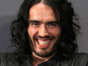 Russell Brand at New York City's Apple Store