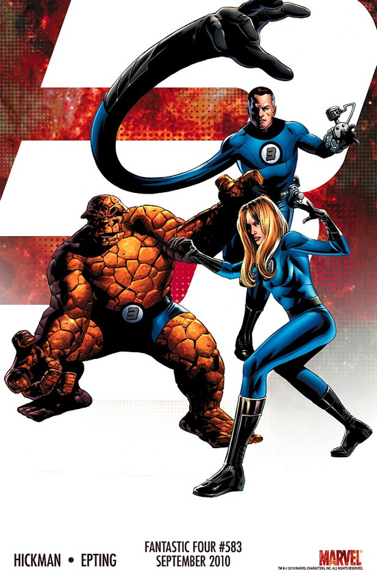Fantastic Four 'Three' Teasers