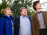 Doctor Who S05E11: The Lodger - The Doctor, Craig and Sophie