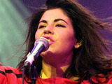 Marina Diamandis performing at The Isle Of Wight Festival at Seaclose Park