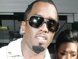P Diddy aka Sean Combs signs autographs outside the Radio One studios
