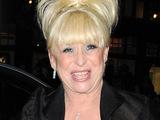 Barbara Windsor departing the BAFTA After Party, London