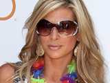 'The Real Housewives of Orange County' star Alexis Bellino arrives to host Luau at TAO Beach in the Venetian Resort Hotel and Casino