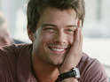 Josh Duhamel reveals that Fergie is more competitive than he is during their workout sessions.