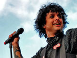 Green Day in concert at the Lancashire County Cricket Club