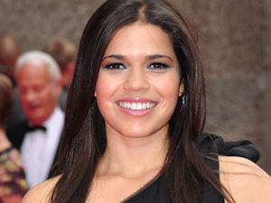 America Ferrera attending the world premiere of 'The Illusionist' at the Edinburgh International Film Festival