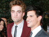 Robert Pattinson and Taylor Lautner at the Twilight Eclipse US premiere