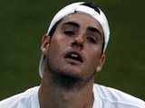 John Isner at Wimbledon 2010