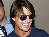Tom Cruise signs autographs as he leaves the El Capitan Theatre after recording a live taping of &#39;Jimmy Kimmel Live!&#39;