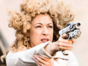 "Doctor Who star Alex Kingston says that it's good to see a woman in her 40s being ""kick-ass""."