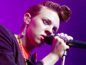"La Roux's Elly Jackson says that she felt ""weird"" after realizing that the group was popular with celebs."