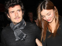 "Miranda Kerr says that Orlando Bloom was ""wonderful"" while she was in labor with their son Flynn."