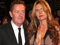 Piers Morgan apparently looked thrilled as he tied the knot with Celia Walden yesterday.